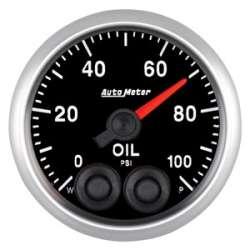 Elite Series 0-100 Oil Pressure Gauge Stepper Motor 5652