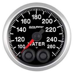 Elite Series 100-260 Water Temperature Gauge Stepper Motor 5654
