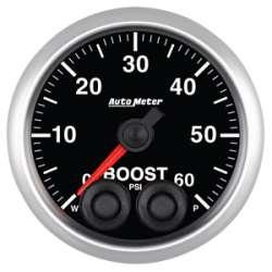 Elite Series 0-60 Boost Pressure Gauge Stepper Motor 5670