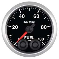 Elite Series 0-100 Fuel Pressure Gauge Stepper Motor 5671