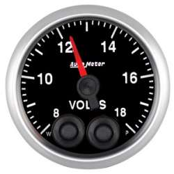 Elite Series 8-18V Voltmeter Gauge Stepper Motor 5683