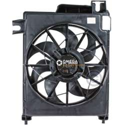 02-08 Dodge 1500 Ram Gas Cooling Fan Assembly