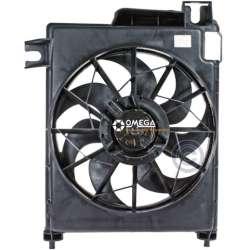 02-08 Dodge 1500 Ram Gas Cooling Fan Assembly