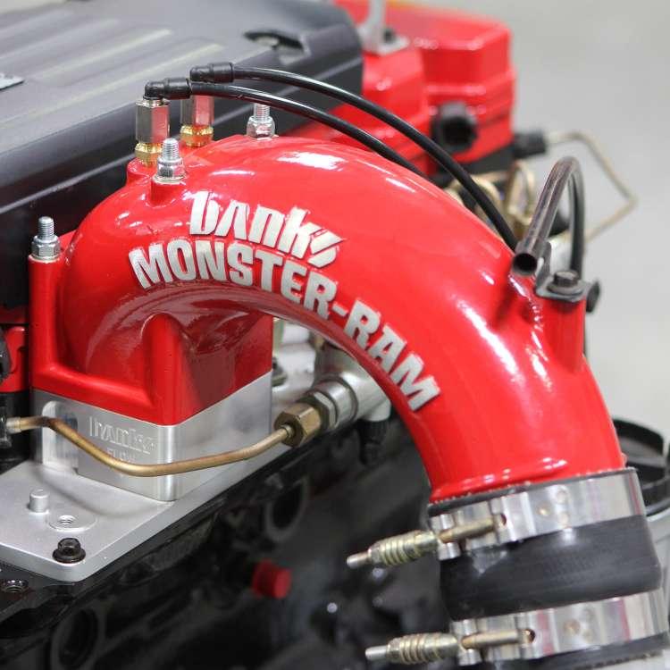 98.5-02 Dodge 5.9L 24V Cummins Banks Monster Ram Intake