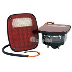 LED Polycarbonate Multi-Function Road Side Tail Lights TLD5060