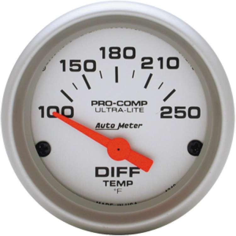 Ultra Lite 100-250º Differential Temperature Gauge 4349
