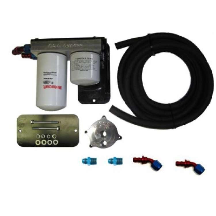 03-07 Ford 6.0L Powerstroke RCD Performance Oil Filter Relocation Kit