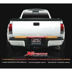 Recon 60 In Xtreme Scanning Amber, White, & Red LED Tailgate Bar