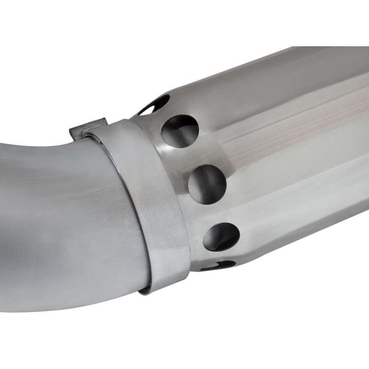 2016 LML 6.6L Duramax AFE Stainless 5 In Large Bore-HD DPF Back Exhaust