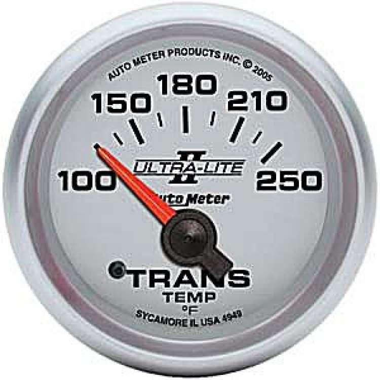 Ultra Lite II Transmission Temperature Gauge 100-250º 4949