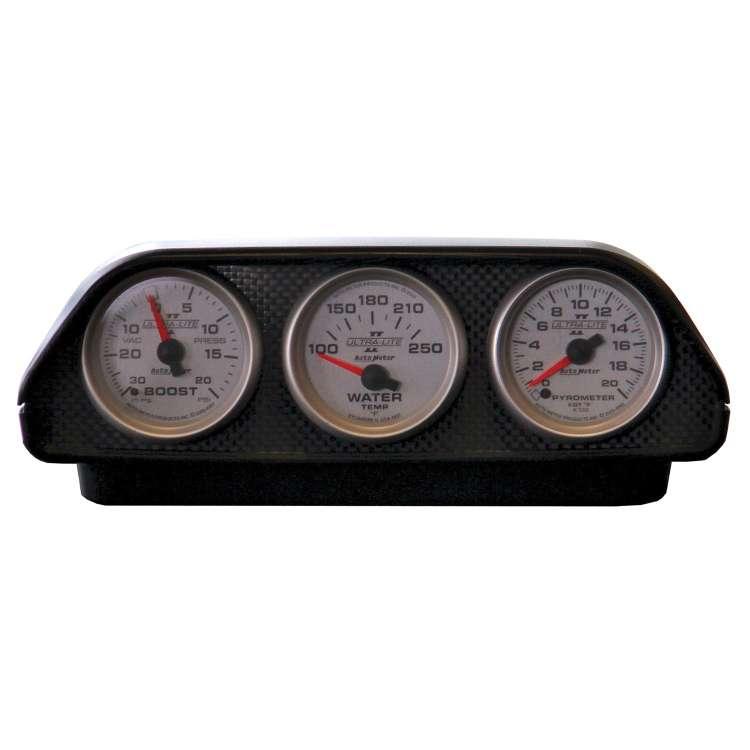 Autometer Universal Triple 2 1/16 In Dash Pod