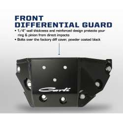 03-12 Dodge Ram 4x4 2500/3500 Carli Front Differential Cover Guard