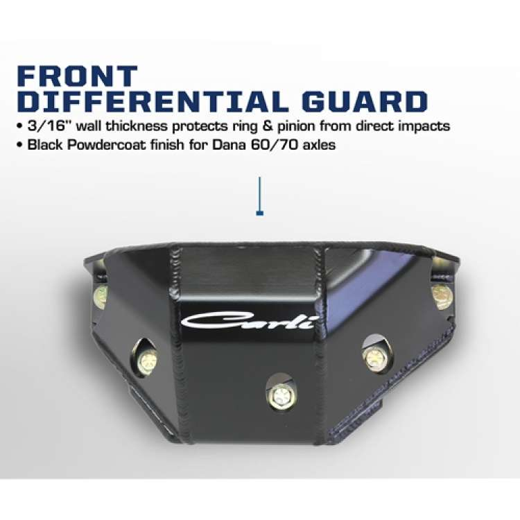 05-13 Ford F250/F350 Superduty Carli Front Differential Cover Guard