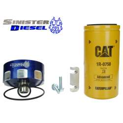 01-14 GM 6.6L Duramax CAT Fuel Filter Conversion Kit