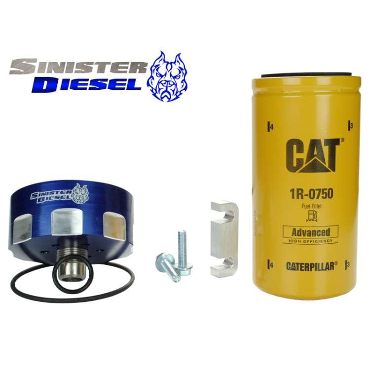 01-14 GM 6.6L Duramax CAT Fuel Filter Conversion Kit