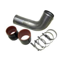 10-12 Dodge 6.7L Cummins 3.5 In Mild Steel Boost Tube Kit