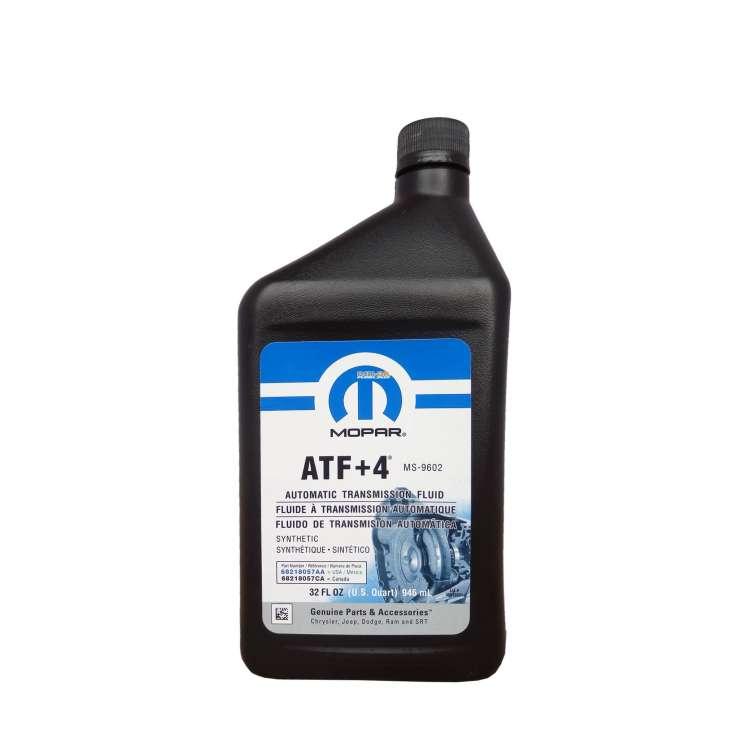 Mopar ATF +4 Transmission Fluid - Quart