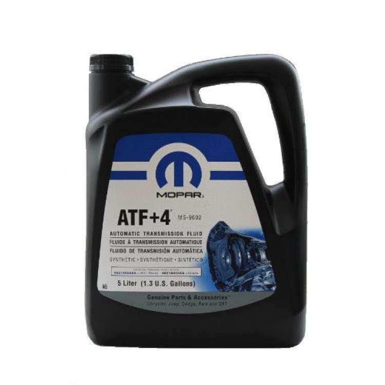 Mopar ATF +4 Automatic Transmission Fluid - 5 Liter Jug