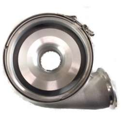 Stainless Diesel S400 Compressor Cover Clamp