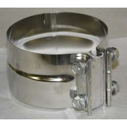 Stainless Diesel Preformed Exhaust Band Clamp