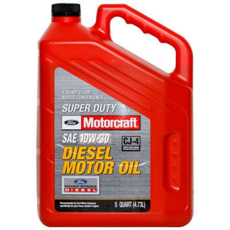 Motorcraft 10W30 Diesel Motor Oil - 5 Quart Jug