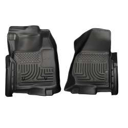 11-12 Ford Superduty Standard Cab Husky WeatherBeater Floor Liners