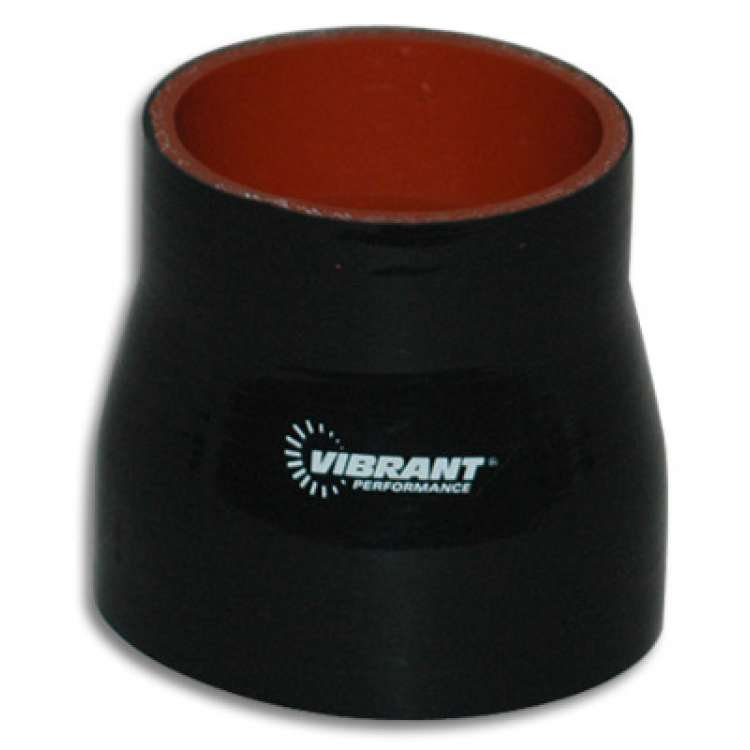 Vibrant Performance 3 In x 3.5 In x 3 In Long 4 Ply Reducer Coupling