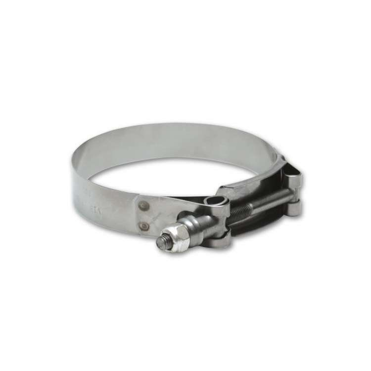 Vibrant Performance Stainless Steel T-Bolt Clamps (Pack of 2)