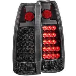 88-00 GMC/Chevy C/K Anzo L.E.D. Tail Lights Black