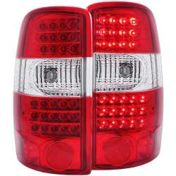 00-06 Chevy/GMC Full-size SUV Anzo L.E.D Tail Lights G2 Red/Clear