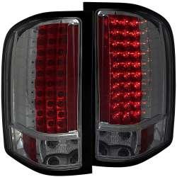 07-13 Chevy Silverado Anzo L.E.D Tail Lights Smoke