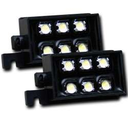 Anzo L.E.D Auxiliary Lighting Bed Rail Pods