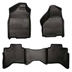 03-09 Dodge Ram Quad Cab Husky WeatherBeater Floor Liner Set
