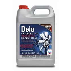 Chevron Delo Extended Life Coolant/Antifreeze - Prediluted 50/50 - Gallon