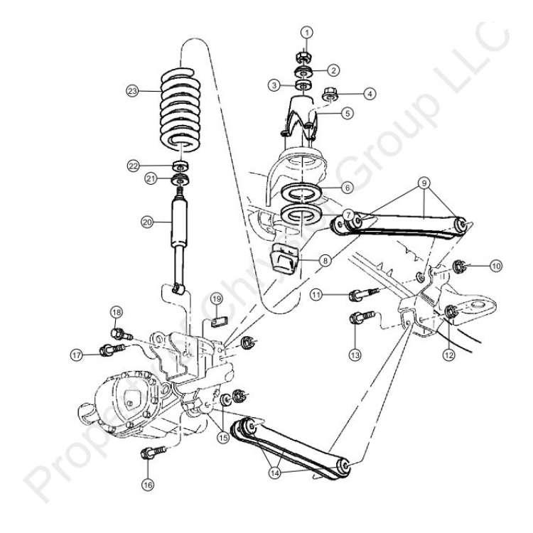 03-07 Dodge 2500/3500 Shock Connector Plates