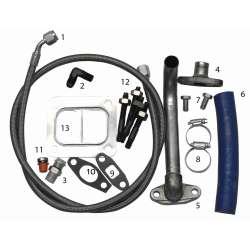 Fleece Performance Duramax S300-S400 Turbo Installation Kit