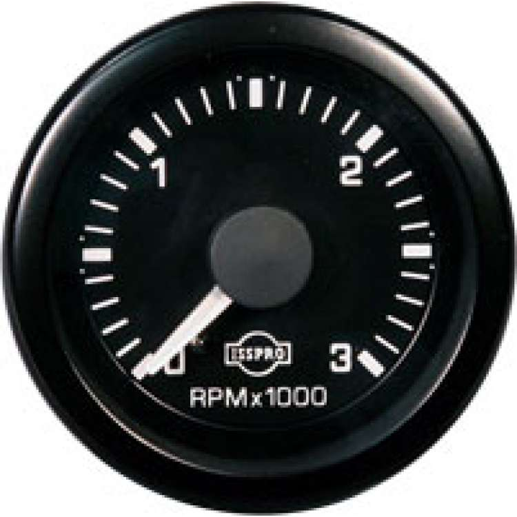 EVA 0-3000RPM Electronic Tach R5501