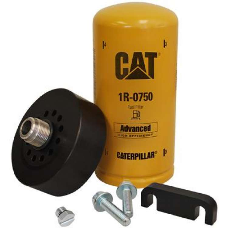 01-10 GM 6.6L Duramax XDP CAT Adapter with 1R-0750 Filter