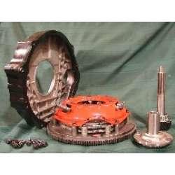 HMR Cummins Engine Adapter Plate w/Spacer for 3 Disc Clutch