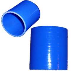 2.5 In Silicone Straight Blue Coupler