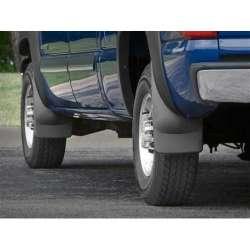01-07 GM Silverado/Sierra w/Fender Flares No-Drill DigitalFit Mud Flaps