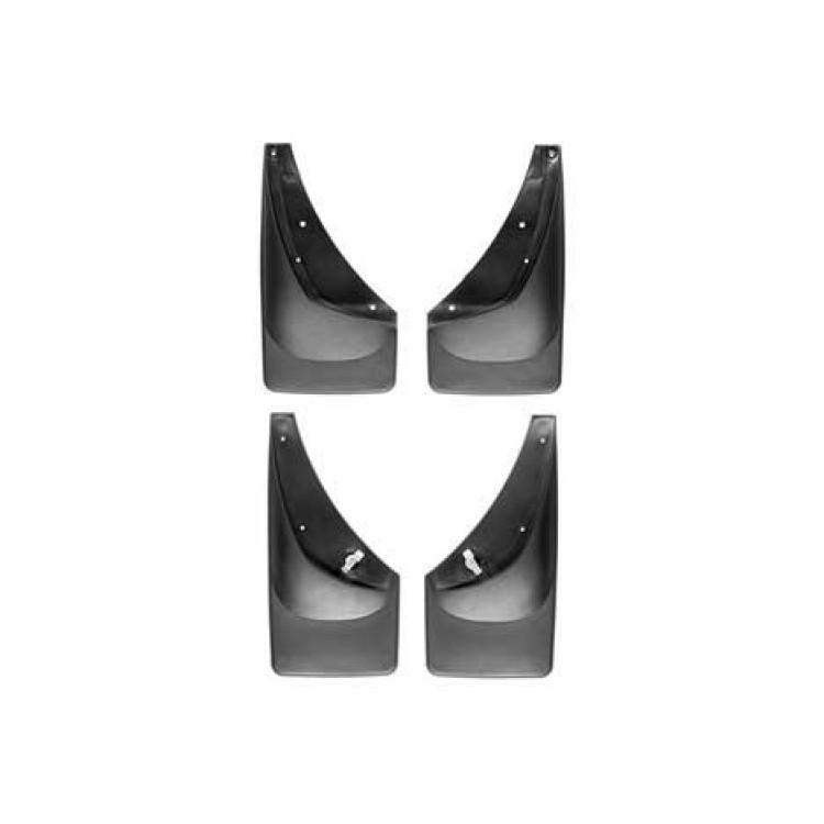01-07 GM Silverado/Sierra w/o Fender Flares No-Drill DigitalFit Mud Flaps