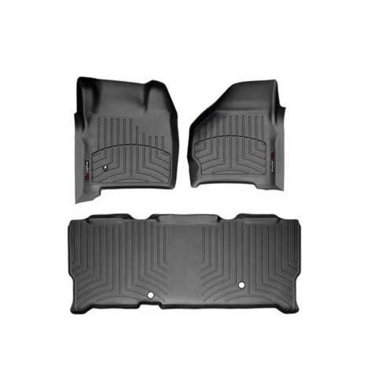 99-07 Ford Superduty w/o Manual Transmission DigitalFit FloorLiner Set