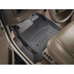 99-07 Ford Superduty w/o Manual Transmission WeatherTech DigitalFit Front FloorLiner