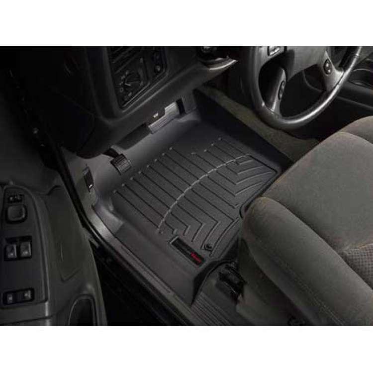 01-07 GM Silverado/Sierra EC/CC WeatherTech DigitalFit Front FloorLiner