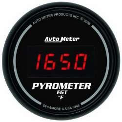 Sport Comp Digital 0-2000° Electric EGT Pyrometer Gauge 6345