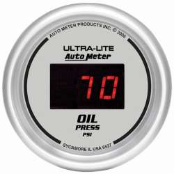 Ultra Lite Digital 0-100PSI Electric Oil Pressure Gauge 6527