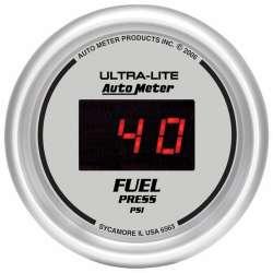 Ultra Lite Digital 0-100PSI Electric Fuel Pressure Gauge 6563