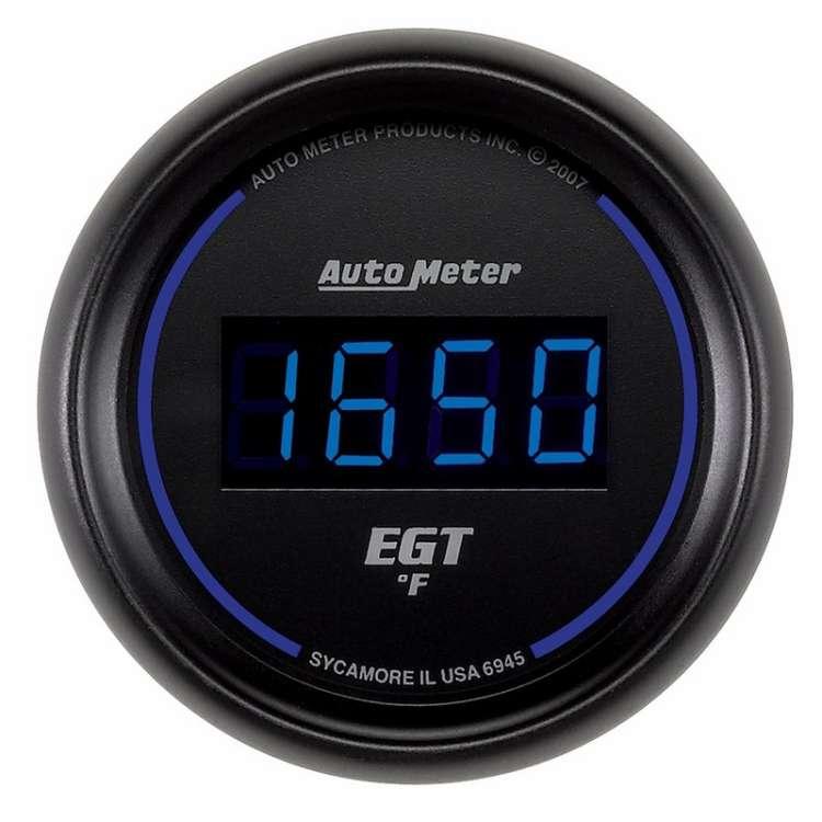Cobalt Digital 0-2000° Electric EGT Pyrometer Gauge 6945