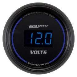 Cobalt Digital 8-18V Electric Voltmeter Gauge 6993